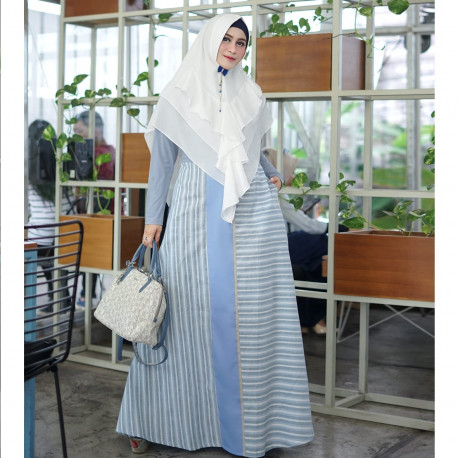 Aura Dress Blue
