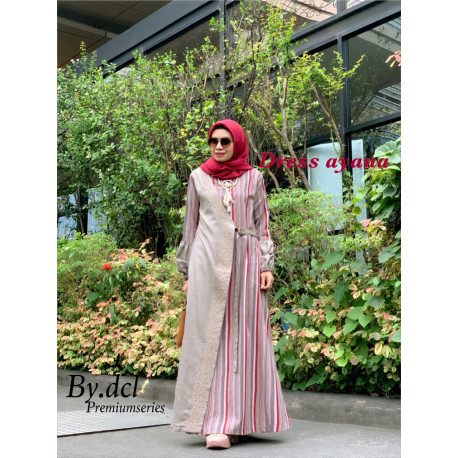 Ayana Dress Dcl Red