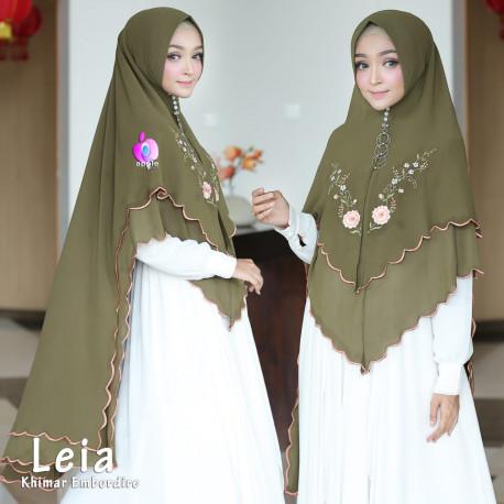 Khimar Leia Green