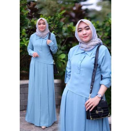 Naura Dress Blue