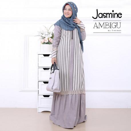 Jasmine Dress Grey