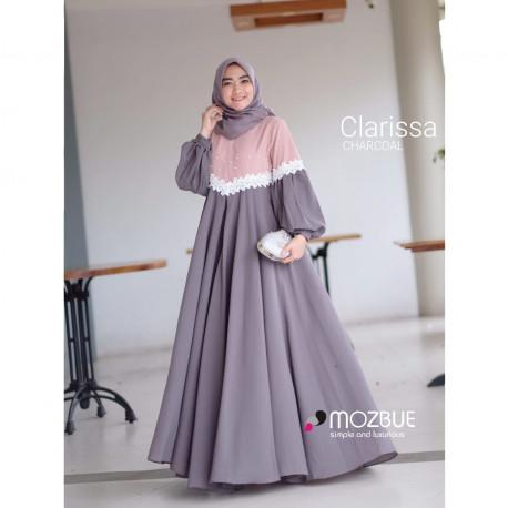 New Clarissa Dress Charcoal