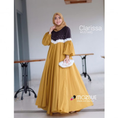New Clarissa Dress Mustard