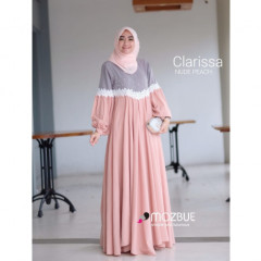 New Clarissa Dress Peach