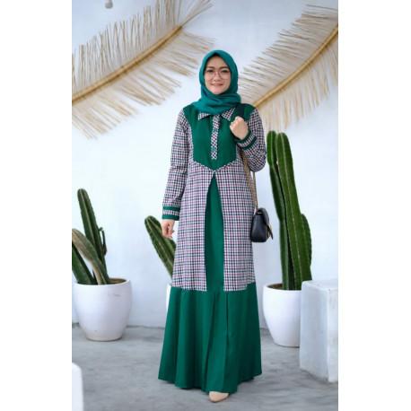 Hayza Dress Hijau
