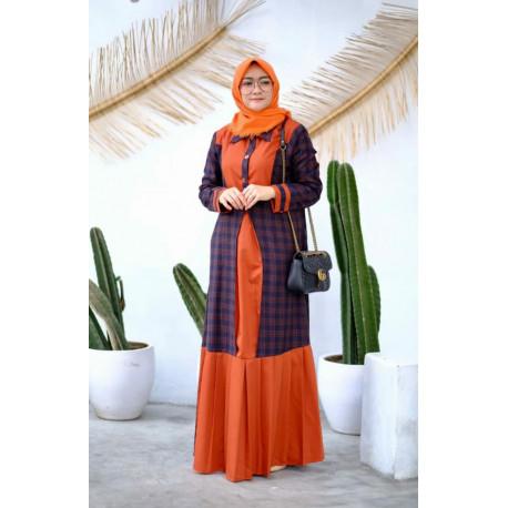 Hayza Dress Orange