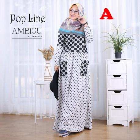 Pop Line Dress A