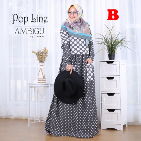 Pop Line Dress B