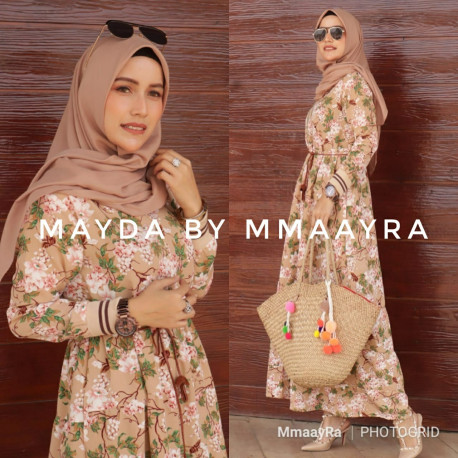 Mayda Dress Brown