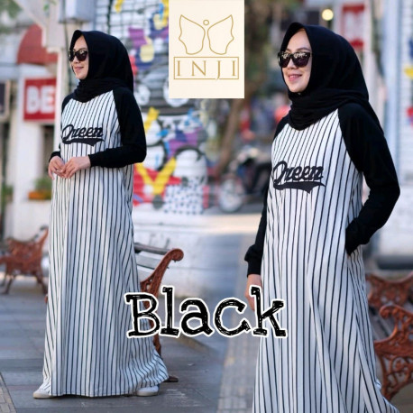 Queen Dress Black
