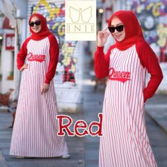 Queen Dress Red
