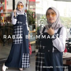 Rabia Overall Navy