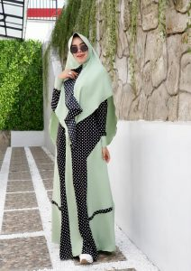 Mariyam Set Warna Mint
