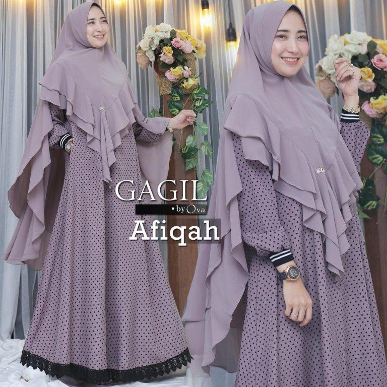 Afiqah Syar'i Dusty Purple