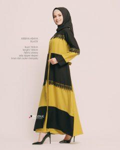 Arbiya Abaya Warna Black