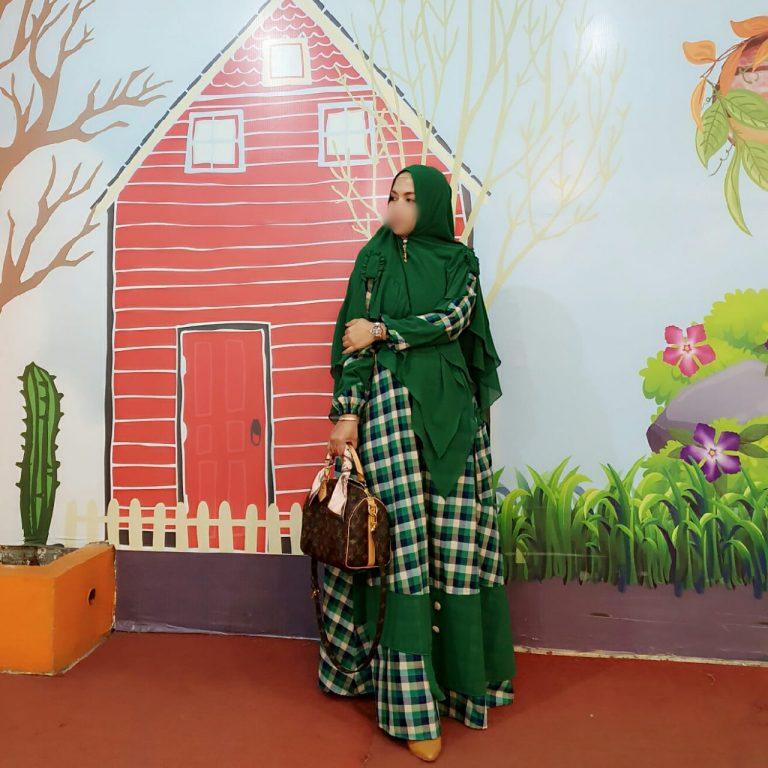 Binar Syar'i Warna Green