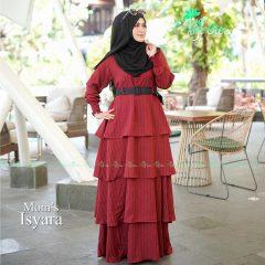 Isyara Dress Maroon