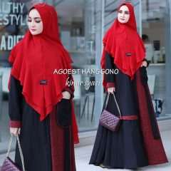 Kinar Syar'i Warna Red