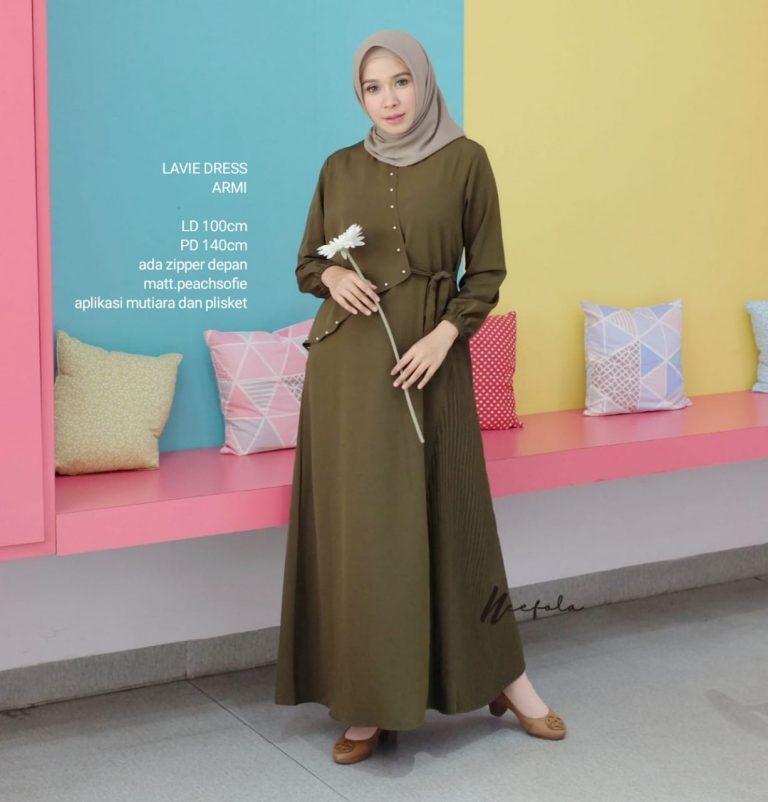 Lavie Dress Warna Army