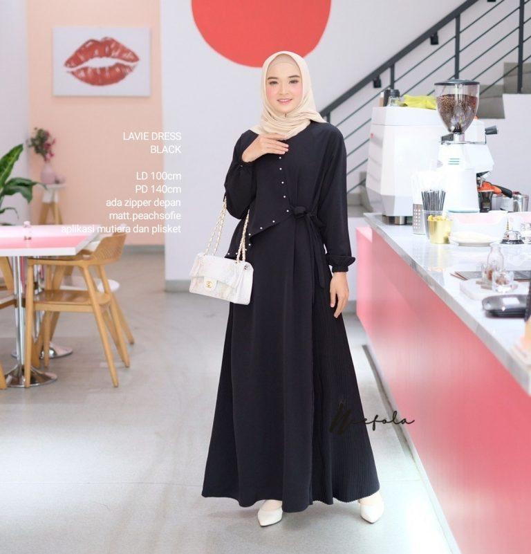 Lavie Dress Warna Black