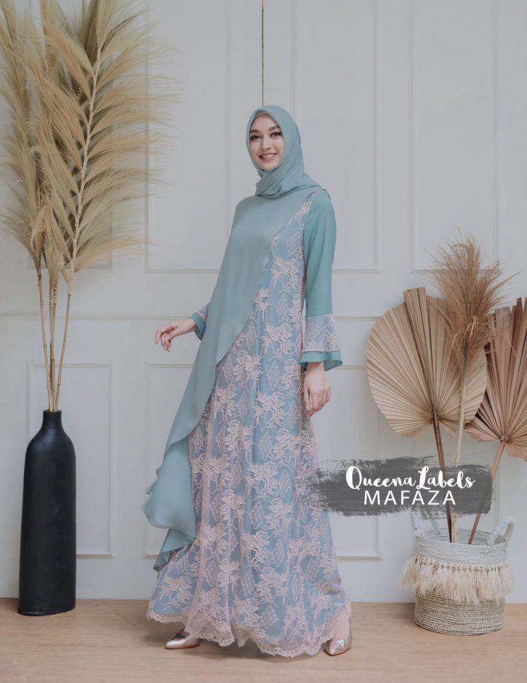 Mafaza Set Warna Soft Blue