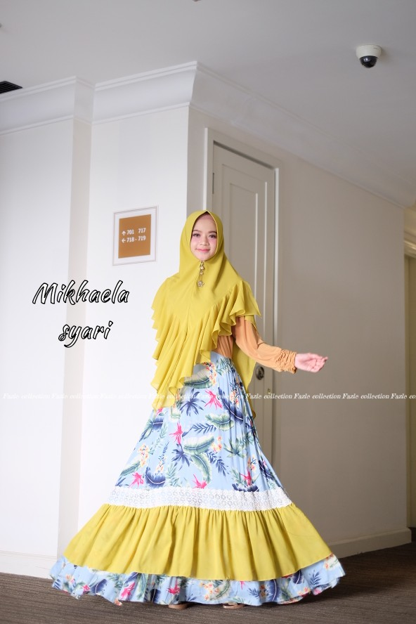Mikhaela Syar'i Yellow