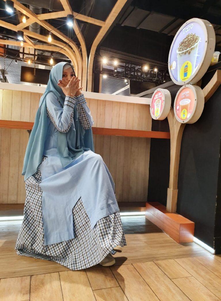 Milea Syar'i Warna Blue