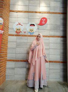 Milea Syar'i Warna Pink