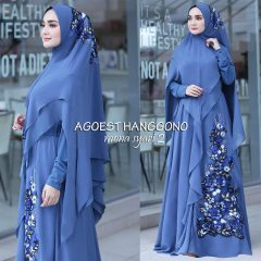 Mona Syar'i Warna Blue