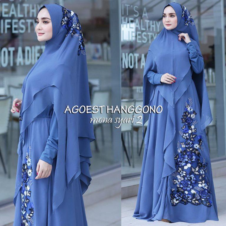 Mona Syar'i Warna Blue