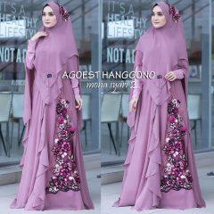 Mona Syar'i Warna Purple