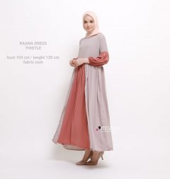 Raana Dress Warna Thistle