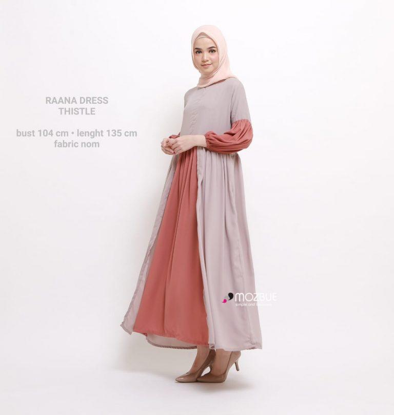 Raana Dress Warna Thistle