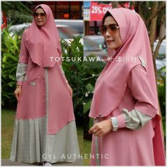 Totsukawa Vol 2 Warna Dusty Pink