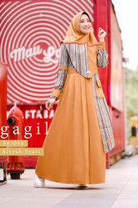 Aisyah Syar'i By Gagil Warna Orange