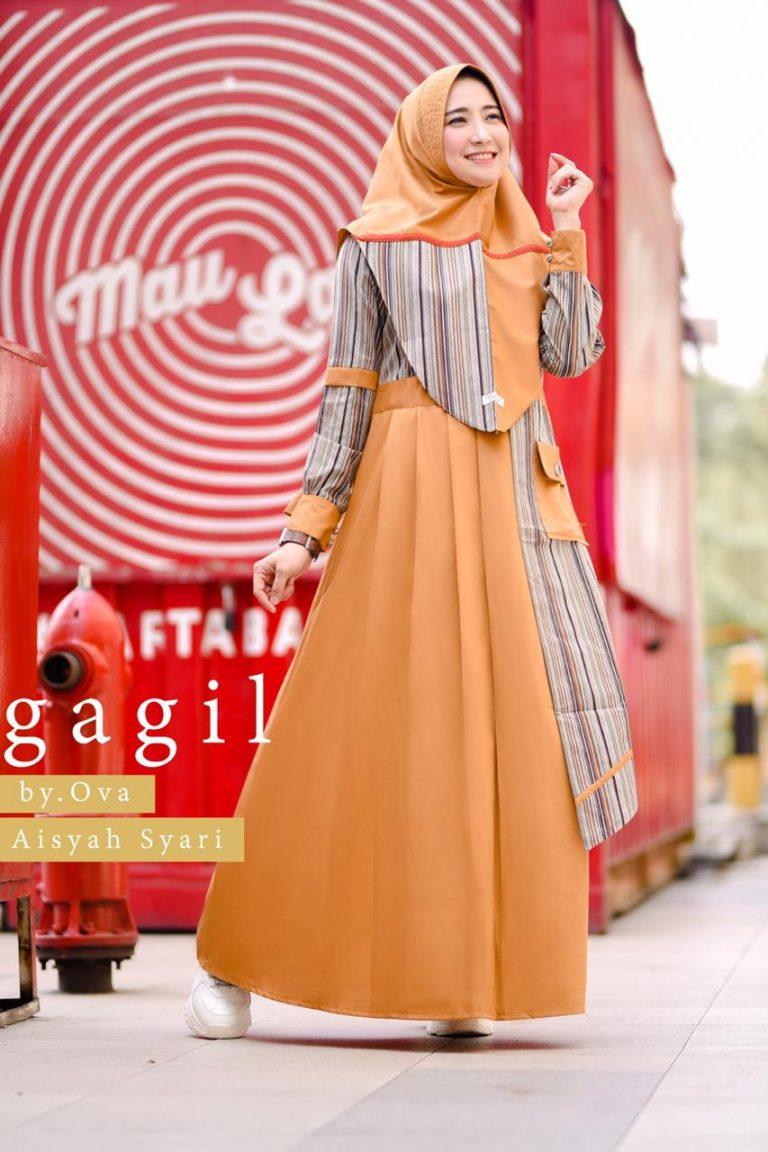Aisyah Syar'i By Gagil Warna Orange