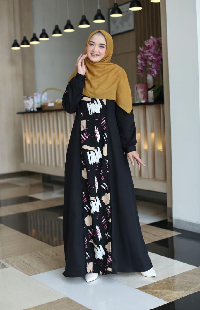 Aye Dress Warna Black By Olivier