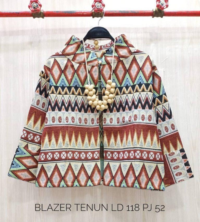 Blazer Tenun Casual Kode A