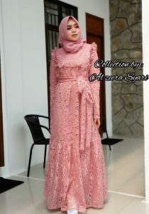 Cinta Dress Warna Dusty Pink