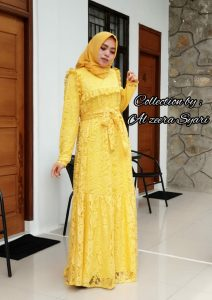 Cinta Dress Warna Yellow