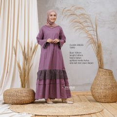 Clara Dress Warna Taro