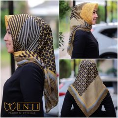 Jilbab Inji Motif E