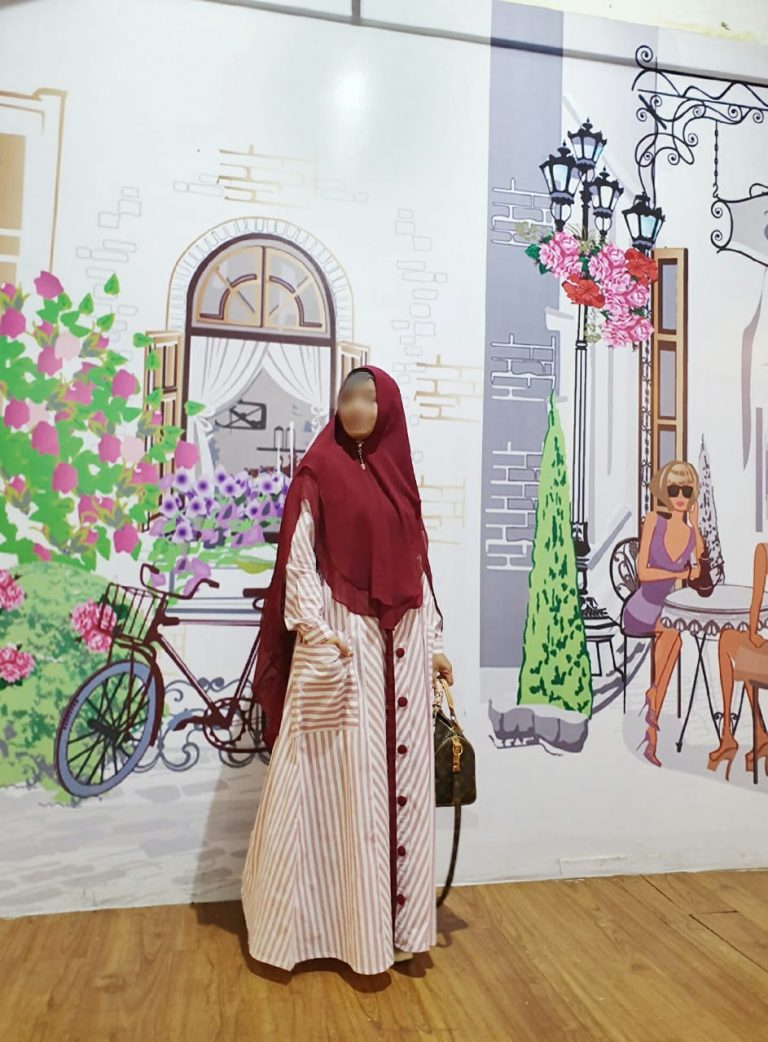 Jameela Syar'i Warna Maroon