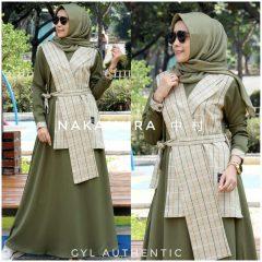 Nakamura Dress Warna Army