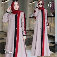 Rana Dress Warna Beige By Olivier