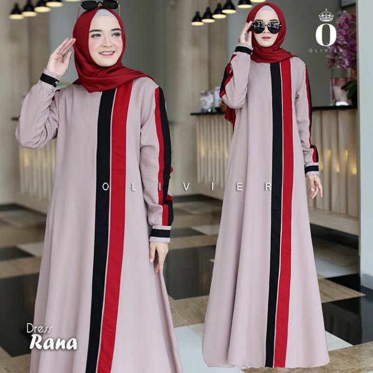 Rana Dress Warna Beige By Olivier