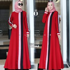 Rana Dress Warna Red By Olivier