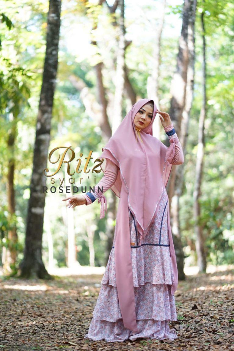 Rosedunn Syar'i Dusty Pink by Ritz