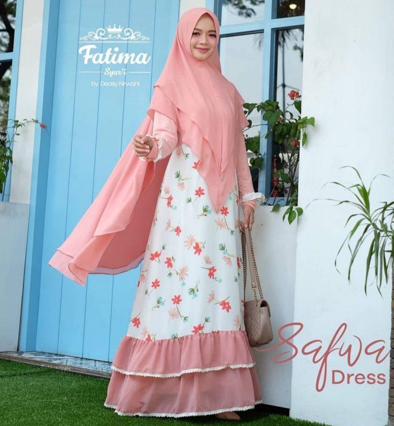 Safwa Dress Warna Salem
