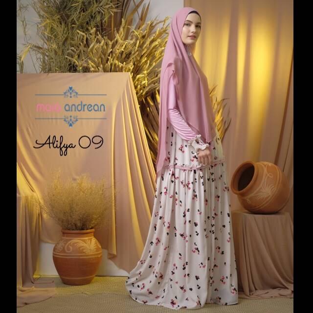 Alifya 09 Dress Warna Pink